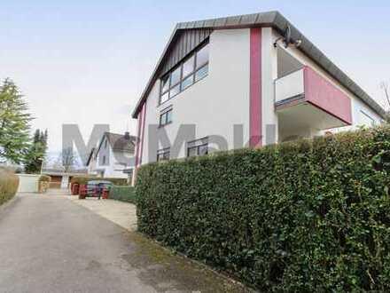 Ideal für große Familien: Gepflegte 7-Zi.-DHH mit Garten, Garage und 3 Balkonen