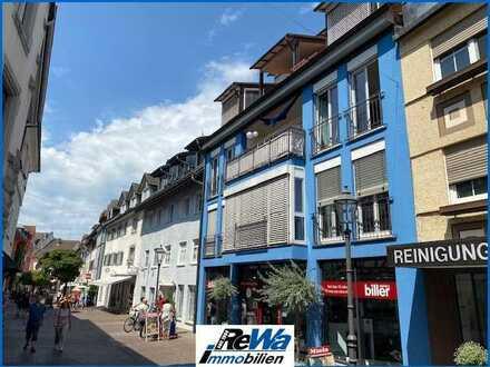 Attraktive 3,5 Zi.-Wohnung mit Lift, Balkon und TG-Stellplatz in der Altstadt von Radolfzell!