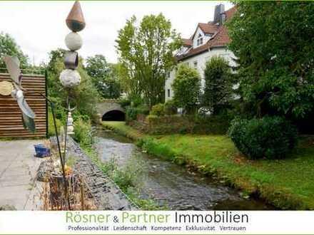 *Wohnidylle am Schwarzbach* 5,5 Zi. - EBK - Gäste-WC - 2 Stellpl., großer Garten *