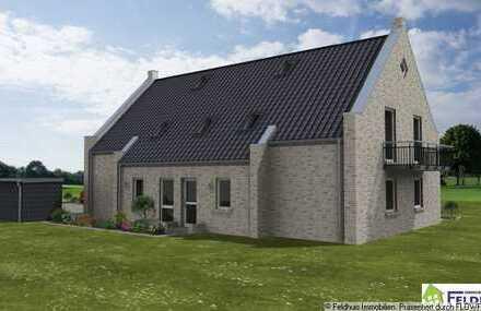 Neubau: Moderne Erdgeschosswohnung in Veenhusen!