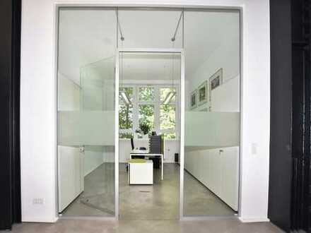 Moderne Büros am beliebten Naherholungsgebiet Rheinaue