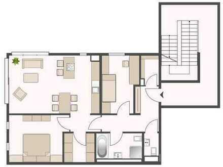 Stilvolle, neuwertige 3-Zimmer-Wohnung mit EBK in Weinstadt