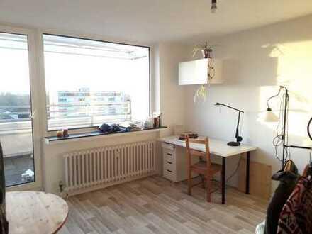 1- Zimmer-Wohnung mit Balkon zur Zwischenmiete bis zum 28.08.2019 in Bonn Tannenbusch