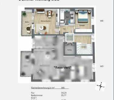 2-Zimmer Neubau Wohnung im Zentrum von Peißenberg *Provisionsfrei*