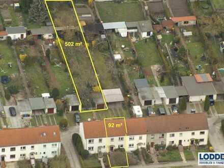 Reihenhaus mit großem Garten in Stendal zu verkaufen