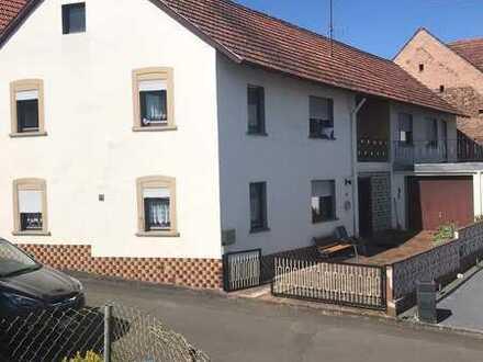 *Geräumiges Einfamilienhaus mit Baugrundstück - Horschbach*
