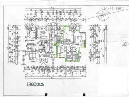 Schöne 3-Zimmer-Erdgeschosswohnung mit Terasse und Einbauküche in Oldenburg (Oldenburg)
