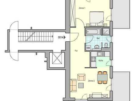 Wohnen an der Brenz - geräumige 2-Zimmer-Wohnung