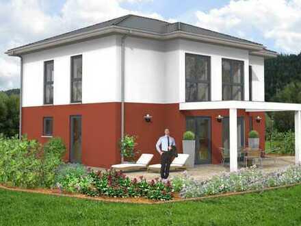 Moderne Stadthausvilla in ruhiger Neubaulage von Geiersthal bei Teisnach inklusive Grundstück