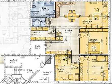 Bild_große, helle und sehr gut ausgestattete 4 Raumwohnung mit Balkon in Neuruppin
