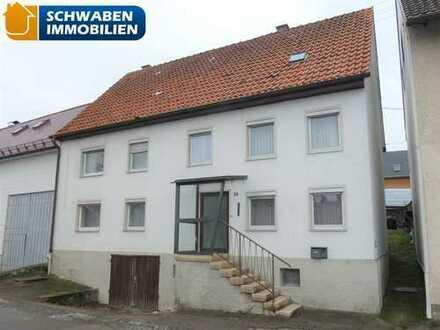 HEIMWERKER AUFGEPASST: Einfamilienhaus mit Garten bei Blaubeuren im Bieterverfahren zu verkaufen!