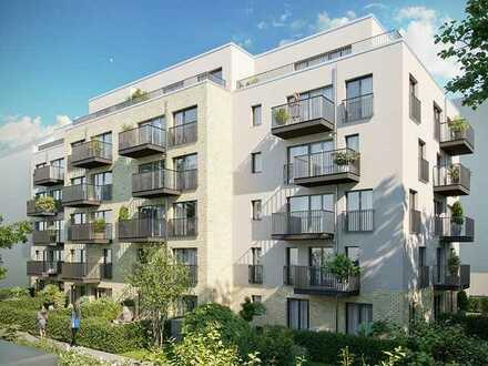 Erstbezug: Luxuriöse 2-Zimmer Single-Wohnung mit EBK und Balkon direkt am Park