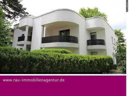 Exklusives Wohnen in grüner Lage: 3-Zimmer-Whg in Harlaching mit 3 Balkonen - ab sofort frei