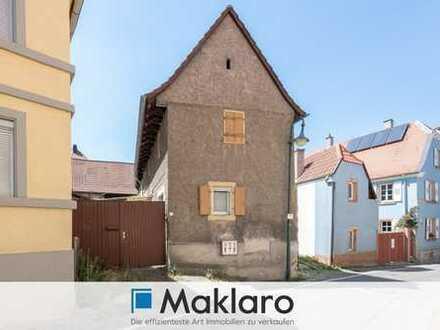 ++ Handwerker aufgepasst ++ Renovierungsbedürftiges Einfamilienhaus in zentraler Lage von Leistadt