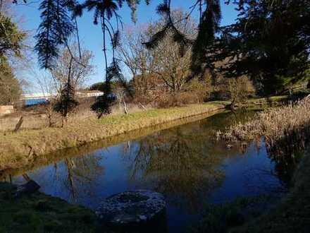 Attraktives Grundstück im Seenpardies - nur 50 Min. nach Berlin mit kleinem Haus (Sanierungsbedarf)