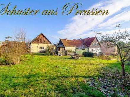 Schuster aus Preussen - Bad Freienwalde - Haushälfte mit ca. 78 m² Wohnfläche, auf mit Sanierungs...