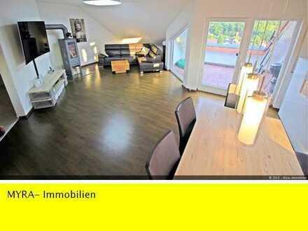 RESERVIERT **Hochwertige Wohnung 116 m² - mit EBK, Kamin, Klimaanlage und 2 Stellplätzen**