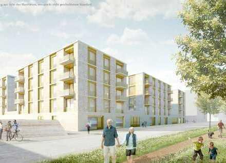 Helle 3-Zimmerwohnung mit zwei großzügigen Balkonen im Baufeld B2 Westriegel