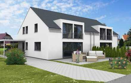 Viel Platz für die ganze Familie! Projektierte Doppelhaushälfte in Rohrau!