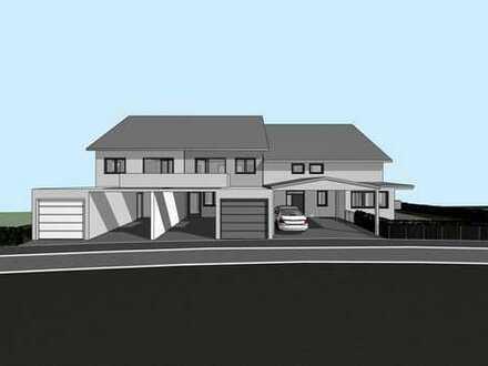 Neubau, modernes KfW 55 Reihenmittelhaus, mit viel Platz für die Familie