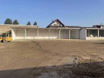Vielseitg nutzbar und aufteilbar - Lagerplatz mit Lagerhalle und Freifläche ab 650m² bis 2558m²