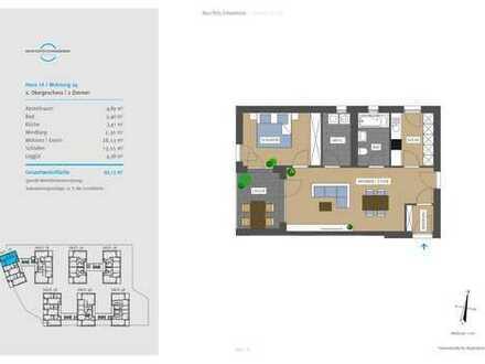 Neue Mitte Schwaikheim - Wohnung 4/ 2.OG