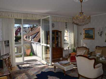 helle barrierefreie 3- Zimmer Wohnung mit Balkon, EBK und Gäste-WC in Wülfrath