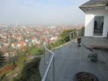 Villa mit Blick über ganz Heidelberg - Inzahlungnahme Haus mit Garten (Neuenheim bis Schriesheim)!!