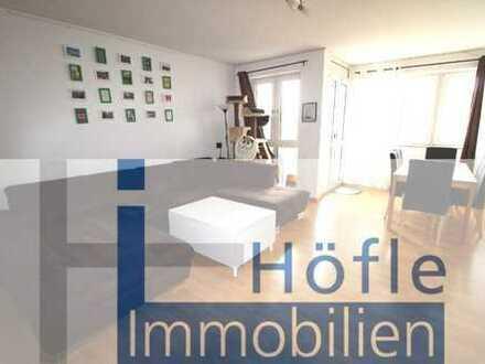 Heppenheim, helle 3 ZKB Wohnung mit Balkon, Pkw-Stellplatz sowie TG-Stellplatz