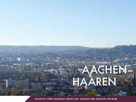 ein Katzensprung bis zur City - hoch über den Dächern von Aachen