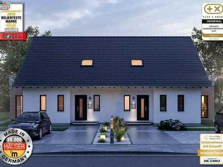 Bauen auch ohne Eigenkapital !!! Doppelhaushälfte !!! Neubaugebiet Hügelsheim !!!