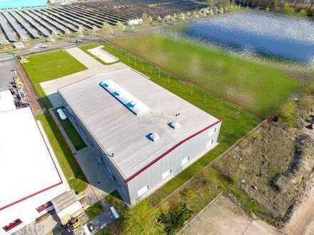 Neuwertige Produktionshalle in Leipzigs modernster Gewerbe-und Produktionslage mit Ausdehnungspot...