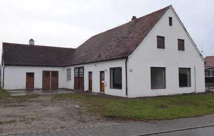 Vielseitig nutzbares Gewerbeobjekt - Nähe Odelzhausen - A8 mittig München u. Augsburg