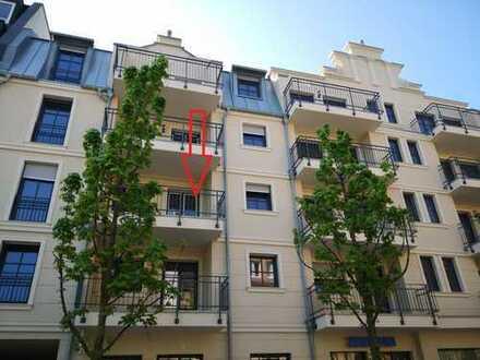 Kaiserpalais Erstbezug: Ruhige und gehobene 2-Zimmer-Wohnung mit Balkon im Zentrum Bad Neuenahrs