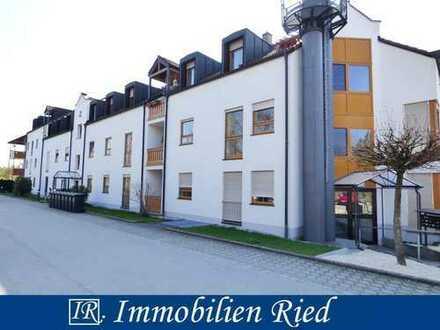 2 Zimmer Etagenwohnung mit Loggia in sehr ruhiger Wohngegend von Türkheim