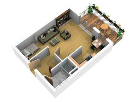 1 Raumwohnung zu verkaufen