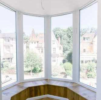 Waldhausen - Obergeschoss mit zwei Balkonen in kernsanierter Stadtvilla - Erstbezug!
