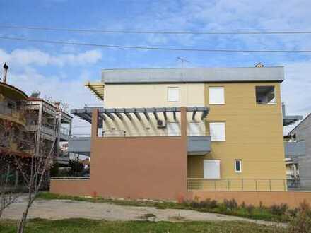 Schöne 3 Zi.-Ferienwohnung mit Meer- und Bergsicht in einem modernen Neubaugebiet in Meer-Nähe