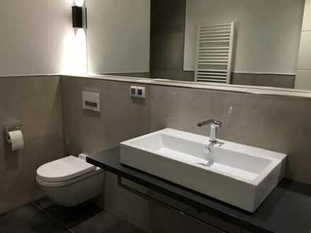Neubau - Teilmöblierte Luxus drei Zimmer Wohnung in Düsseldorf, Flingern Süd