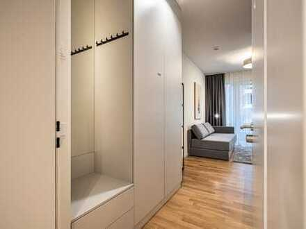 Super apartment with balcony & pantry kitchen