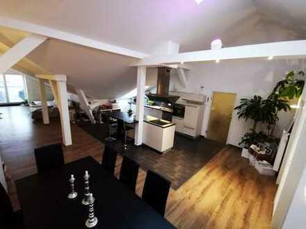 individueller Luxus*3-Raum-DG*Dachterrasse*offene Küche*Tageslichtbad* Gäste-WC