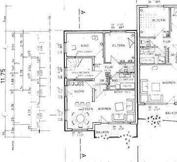 Ansprechende 3-Zimmer-Wohnung mit Balkon in Überlingen