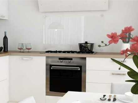2-Zimmer-Wohnung mit Wohnküche, eleganter Ausstattung und Balkon in ruhiger und doch zentraler Lage