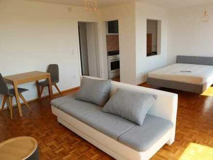 Helles, freundliches 1 Zi Apartment, möbliert