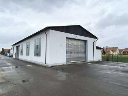 Lager-/Produktionshalle mit Büro - Halle 2