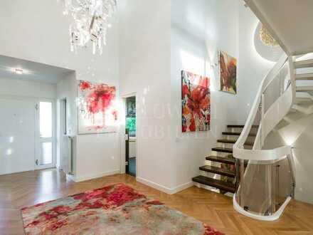 RESERVIERT: Begehrte Feudenheimlage - Modernisierte Galerie-Villa in zeitloser Eleganz!