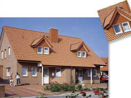 Doppelhaus mit großen Grundstück