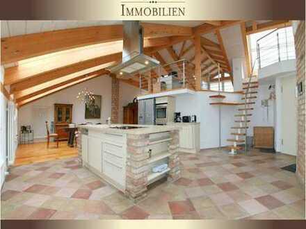 Potsdam, 136 m² luxuriöses DG, offener Wohn-/Ess-/Küchenbereich, weitere Ebene mit Dachterrasse