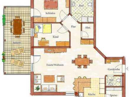 Geben Sie Ihrem Vermögen einen neuen Sinn: Neubauwohnung, 3,5 Zi. mit 105,27 qm in Massivbauweise