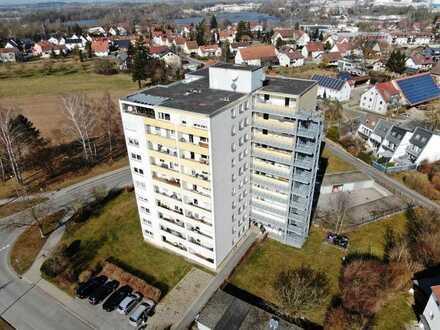 Grenzenlos über den Dächern von Laupheim! 3,5-Zimmer Penthouse-Wohnung mit herrlichem Ausblick
